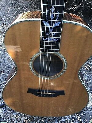 Taylor xxx-ms 30th anniversary acoustic guitar with hard case