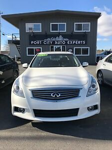 2012 Infinity G37xS - Very Clean, AWD from $148 bi-weekly