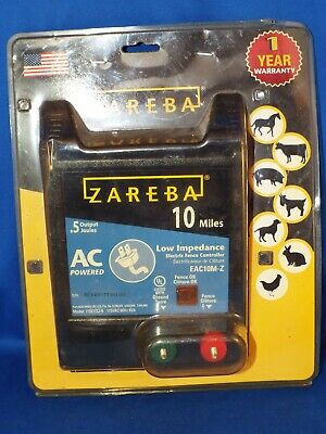 Woodstream Zareba Zareba Ac Low Impedance Electric Fence Charger 10 Mile