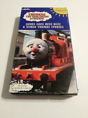 Thomas the Tank Engine James Goes Buzz Buzz VHS Tape