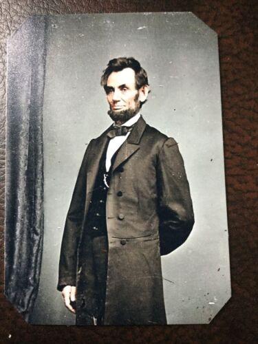 President Abraham Lincoln Civil War tintype C801RP