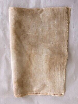 "32 ct. R & R Hand-dyed Belfast Linen for x-Stitch: ""DAYS GONE BY""- 12"" x 16-1/2"""