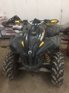 2009 Can Am renegade 800R XXC