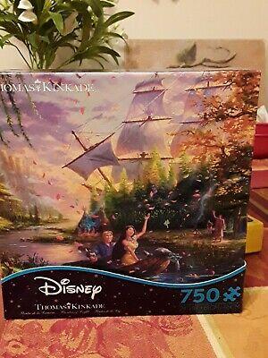 New Disney Thomas Kinkade Pocahontas 750 Pieces Jigsaw Puzzle