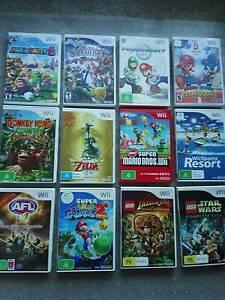 Super Mario Bros Mario Kart Party Super Smash Wii games from $10 Hawthorn Boroondara Area Preview