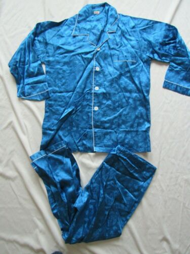 VTG NOS 40s 50s Made in Japan Souvenir Pajama Set Dragon Shirt Pant Sukajan WW2