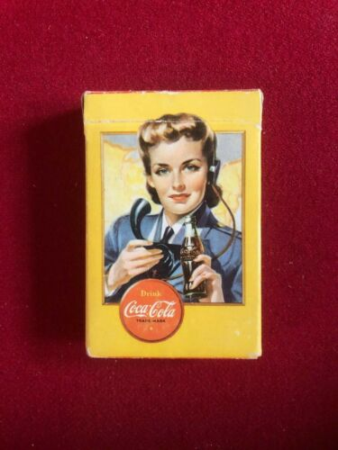 """1943, Coca-Cola, """"Spotter""""  Playing Cards Deck  (Scarce / Vintage)"""