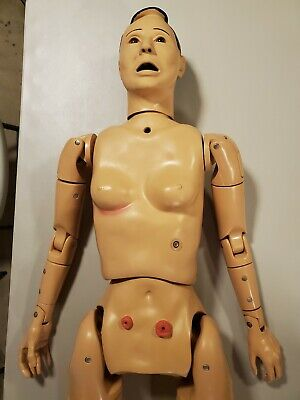 Nasco Lifeform Geri Full Body Nursing Simulator Manikin Wmulti Genitalia Lf4020
