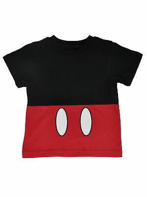 Toddler Boy Disney Costumes (Boys Toddler Disney Mickey Mouse Costume T-Shirt Red)
