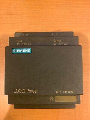 Siemens 6ep1331-sh01 Logo Power Supply 24vdc 1.3 Amp