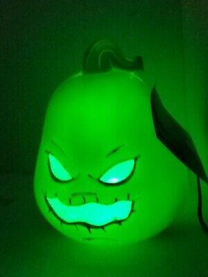Oogie Boogie Nightmare Before Christmas Head Blow Mold Lighted Halloween Decor