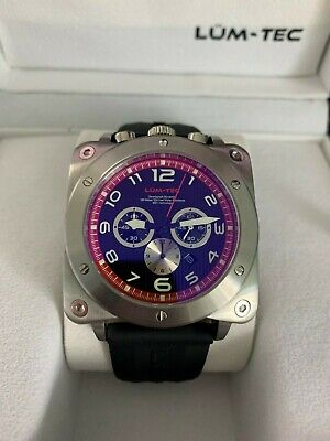 """Gears of War 3"" Limited Edition Lum-Tec Bull45 A11 Luminous Chronograph Watch"