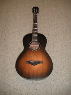 Ibanez AVN6DTS Artwood Vintage parlour Guitar with New Case