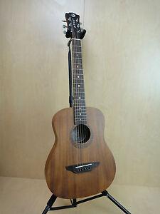 Safari Series Mahogany 3/4 Dreadnought Travel Acoustic Guitar Natural.SAF MAH GC