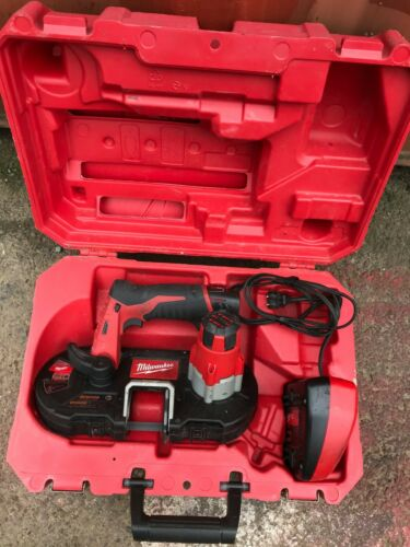 milwaukee cordless Band saw 2429-20 with charger