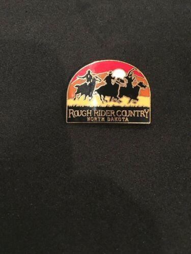 North Dakota Rough Rider Country Pin