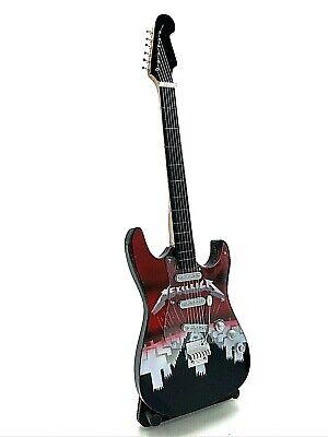 Miniature Fender Standard Stratocaster Guitar - Metallica 1 (Ornamental)