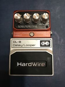 Digitech Hardwire Delay guitar effects pedal