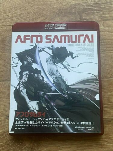 Afro Samurai HD DVD Japan Import with Obi and RARE promo cards