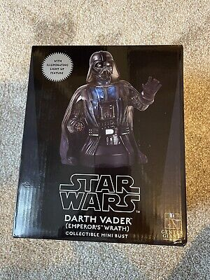 Darth Vader Emperor's Wrath Gentle Giant Star Wars bust # 659 Return of the Jedi