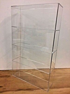 Displays2buy Acrylic Lucite 14 X 4 14 X 23h Display Case Showcase Box Cabinet