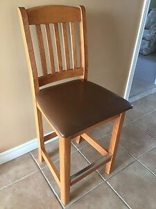 4 bar stool chairs. Very high quality from Holsag