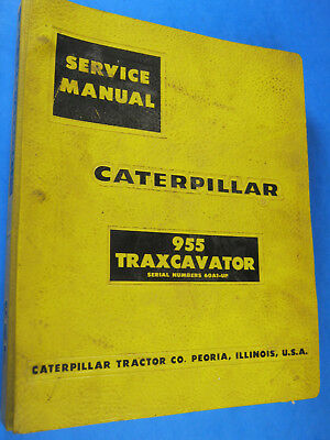Caterpillar 955 Tracavator Service Manual