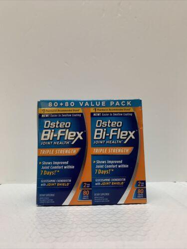 Osteo Bi-Flex Triple Strength Glucosamin Chondroitin MSM 160 Tablets Exp: 09/22