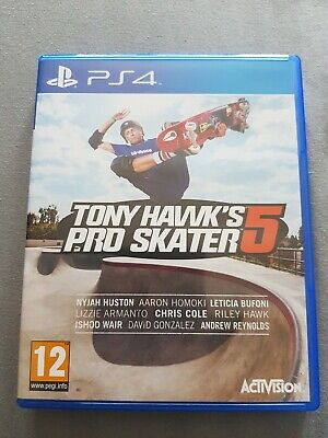 Tony Hawk's Pro Skater 5 ps4 PlayStation 4
