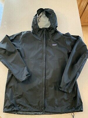 Patagonia Men's Torrentshell Rain Jacket Black Size XL