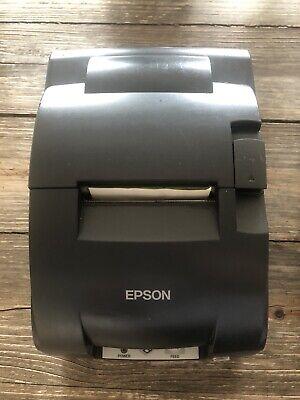 Epson Model Tm-u220b Serial Receipt Printer M188b