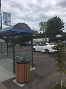 Espace de stationnement Ste-Rose Laval