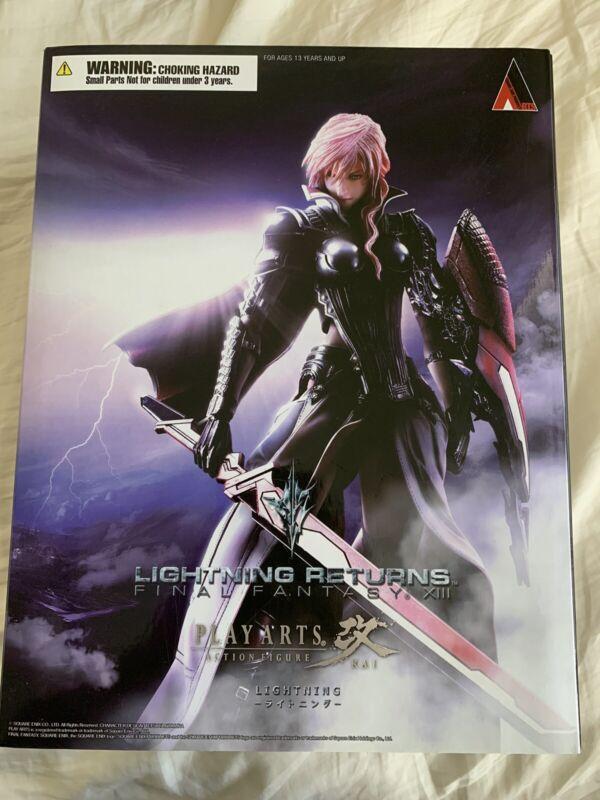 Final Fantasy XIII Lightning Returns Play Arts Kai Figure Square Enix New Sealed