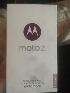 Moto z with mods unlocked with box