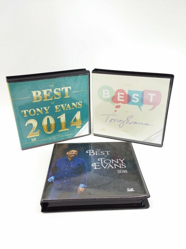 3 The Best of Tony Evans CD Set 2014-2016 Ministry Bible Study Commentary Sermon