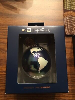 Hallmark Globe Earth Ornament Rare Sold Out Health to the World 2018 Me to (Earth Ornament)