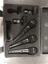 Behringer microphone 3 pack Warragamba Wollondilly Area Preview