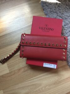 Valentino wallet in red