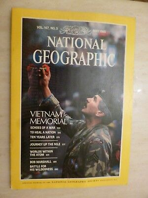 National Geographic- VIETNAM MEMORIAL - MAY 1985