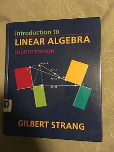 Indroduction to linear algebra