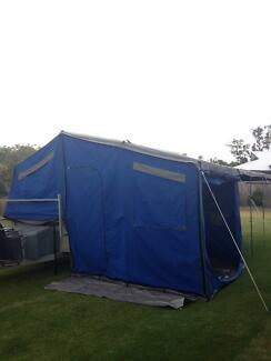 2012 9ft Deluxe Castaway Soft Floor Camper Trailer Rockyview Rockhampton Surrounds Preview