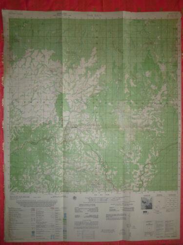6433 i - DAK DAM - MAP - CAMBODIA - September 1970 - US INVASION - Vietnam War