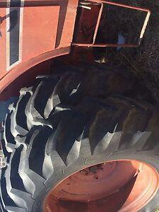 Parts tractors, loaders
