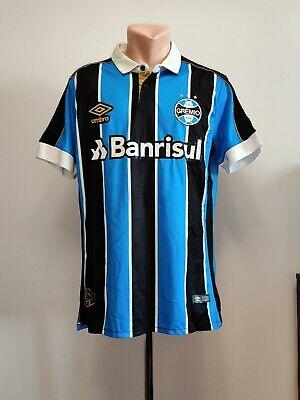 Football shirt soccer FC Gremio Grêmio Home 2019/2020 Umbro jersey Brazil FBPA M image