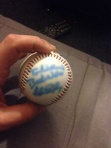 Signed by two 1980's bluejays Kitchener / Waterloo Kitchener Area image 2