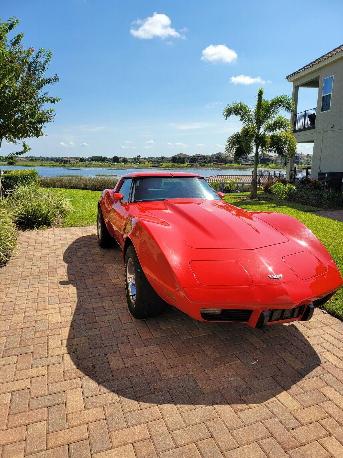 1979 Red Chevrolet Corvette   | C3 Corvette Photo 1