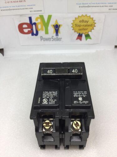 Siemens 40 Amp Double Pole  Circuit Breaker Q240