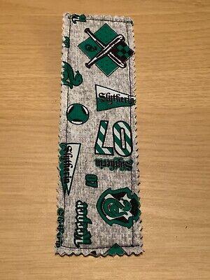 harry potter Slytherin Soft Fabric bookmark