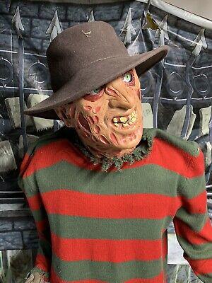 Gemmy Freddy Kruger Life Size Animated Prop Gemmy Animatronic Halloween