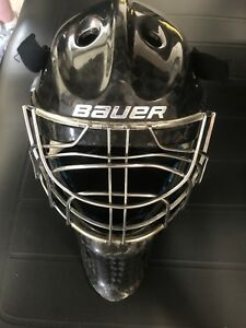 Ice hockey goalie helmet
